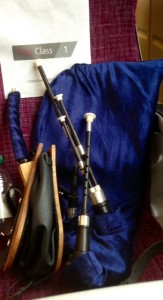 """""""1st Class Northumbrian Pipes"""" - BW"""
